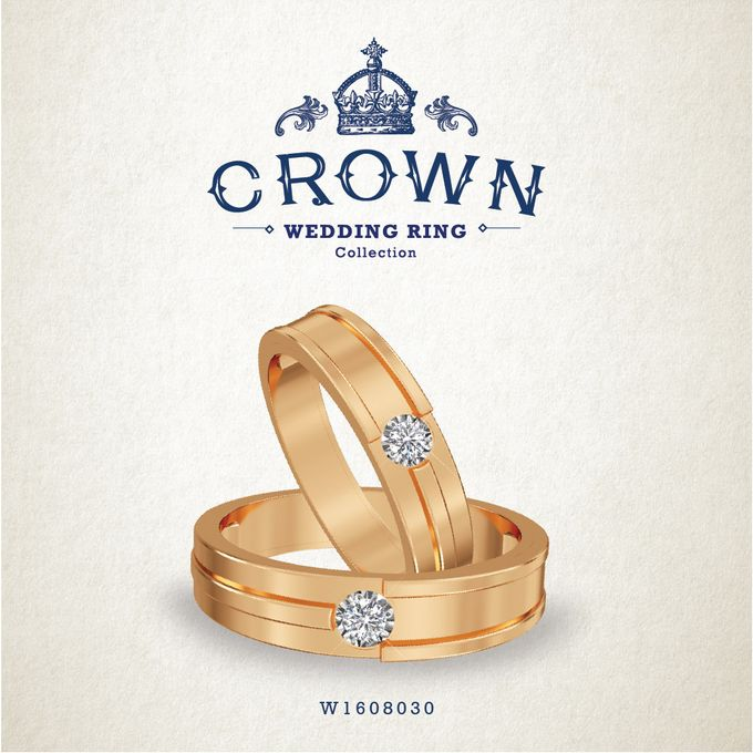 Crown Wedding Ring by Adelle Jewellery - 014