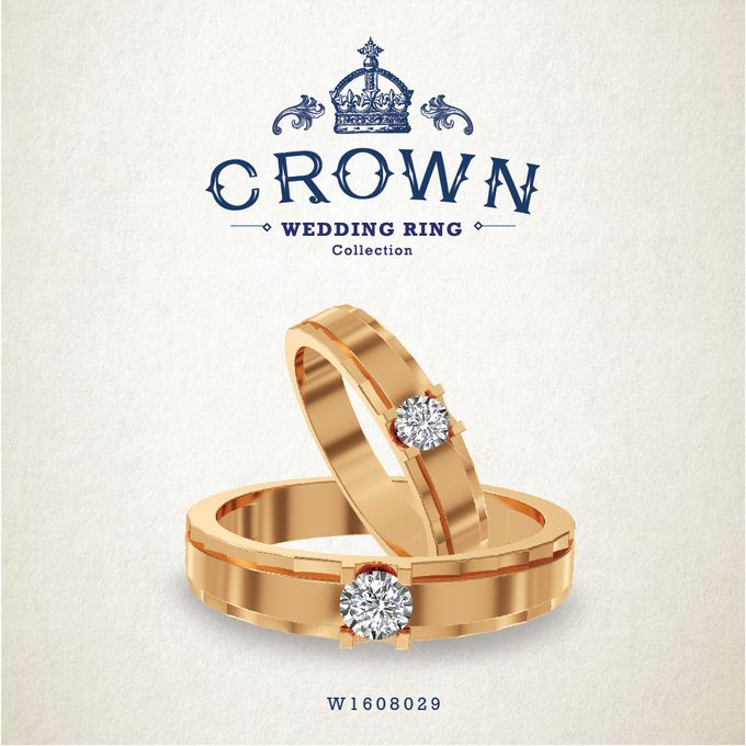 Crown Wedding Ring by Adelle Jewellery - 015