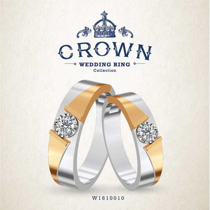 Crown Wedding Ring by Adelle Jewellery - 016