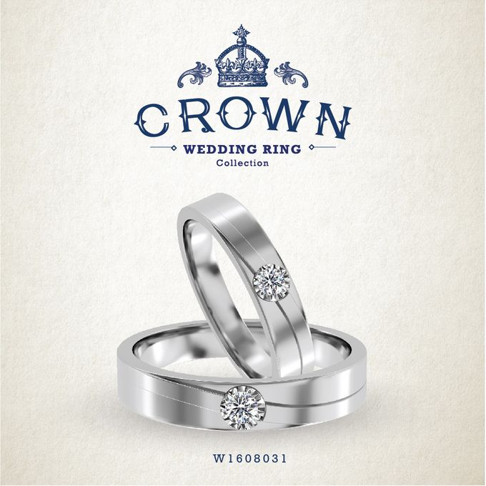 Crown Wedding Ring by Adelle Jewellery - 017