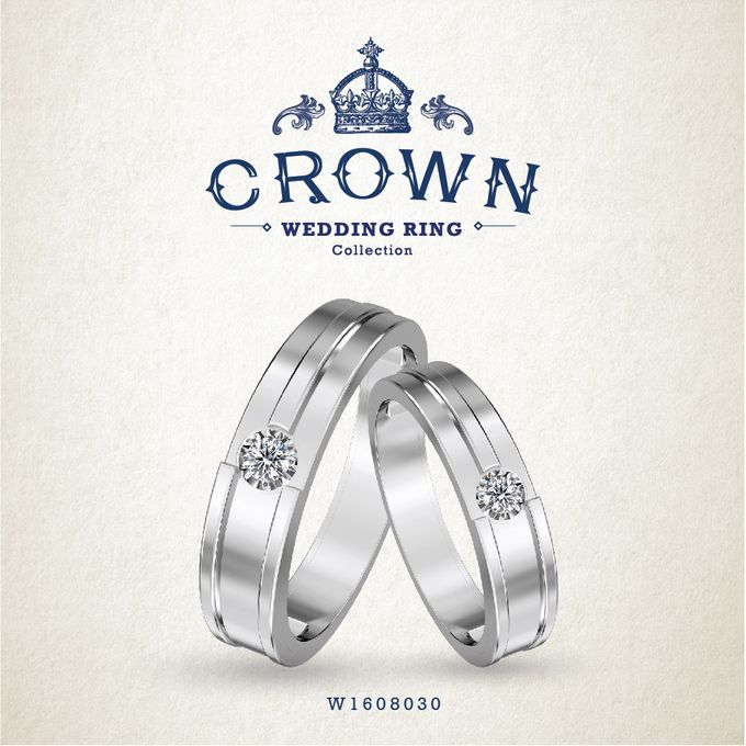 Crown Wedding Ring by Adelle Jewellery - 018