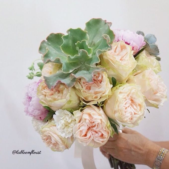 Rustic Wedding by La Bloom Florist - 002