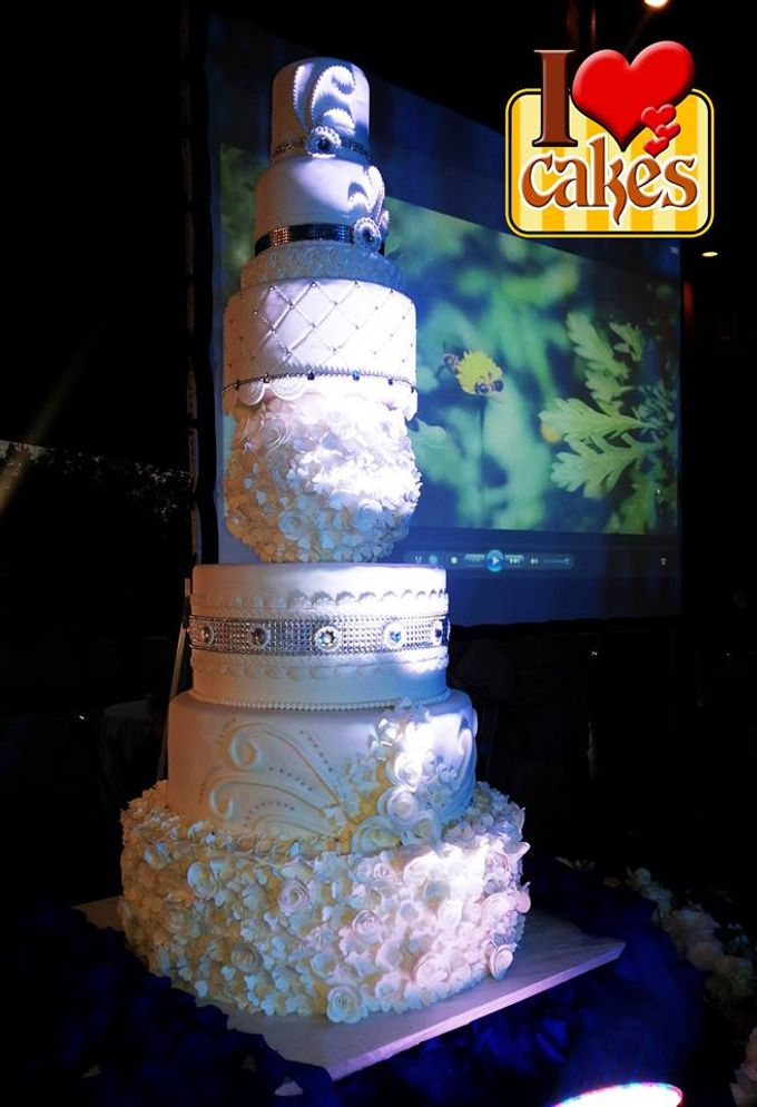 Wedding Cakes by I Love Cakes - 007