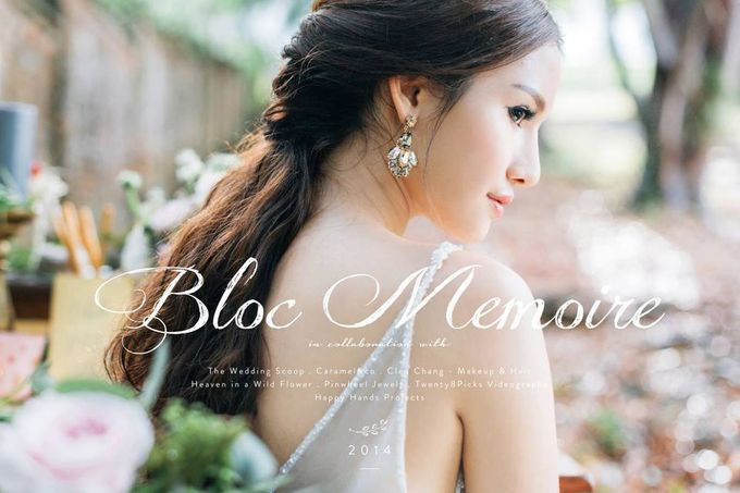 A Spring Wedding by Cleo Chang - Makeup . Hair - 001