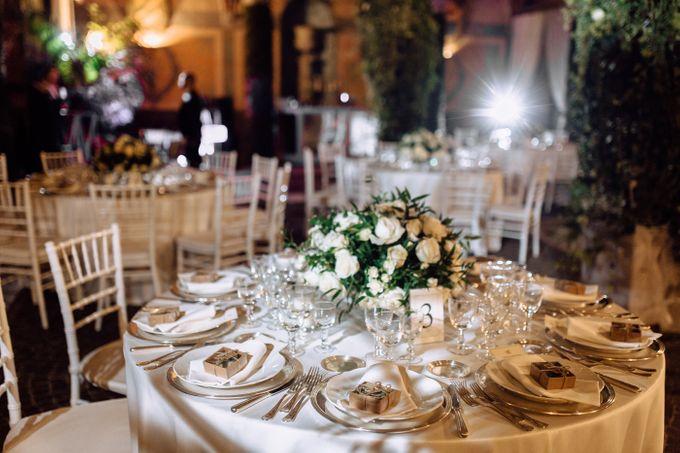 Wedding in Historical castel in Rome, Castello di Tor Crescenza by Vera Weddings - 029