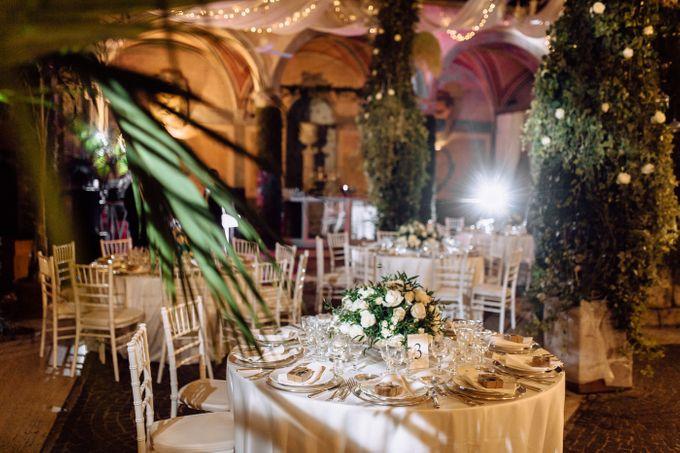 Wedding in Historical castel in Rome, Castello di Tor Crescenza by Vera Weddings - 030