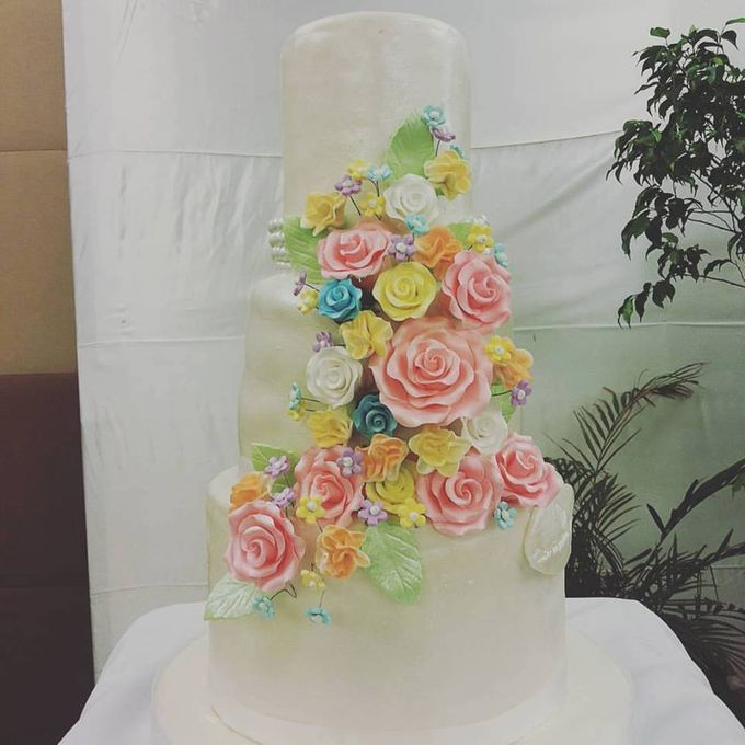 Wedding Cakes by The Cupcake Theory - 007