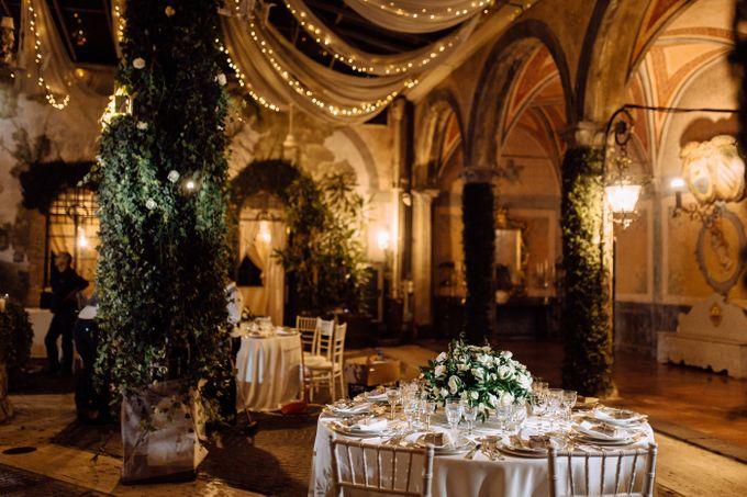 Wedding in Historical castel in Rome, Castello di Tor Crescenza by Vera Weddings - 032