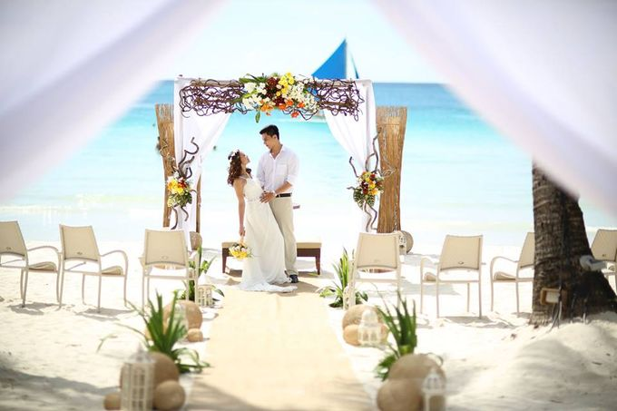 Beach Wedding at The District Boracay by The District Boracay - 007