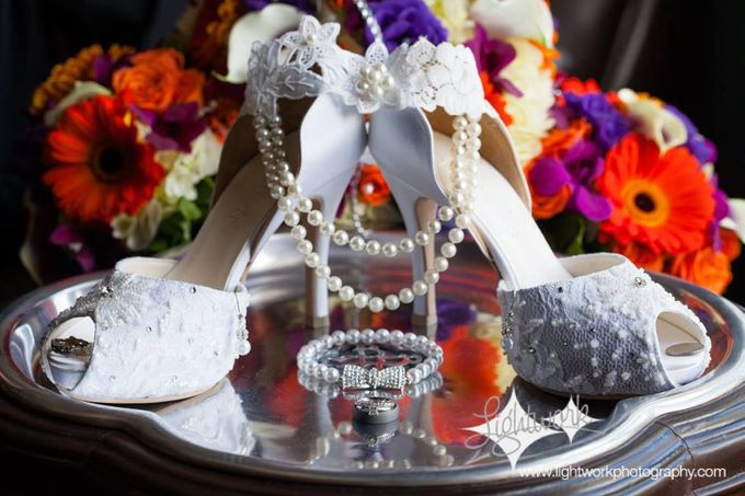 Bridal Shoe Close Ups by Christy Ng Shoes - 013