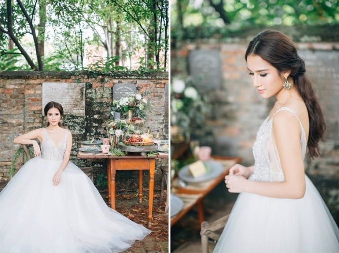 A Spring Wedding by Cleo Chang - Makeup . Hair - 006