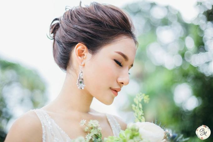 A Spring Wedding by Cleo Chang - Makeup . Hair - 002