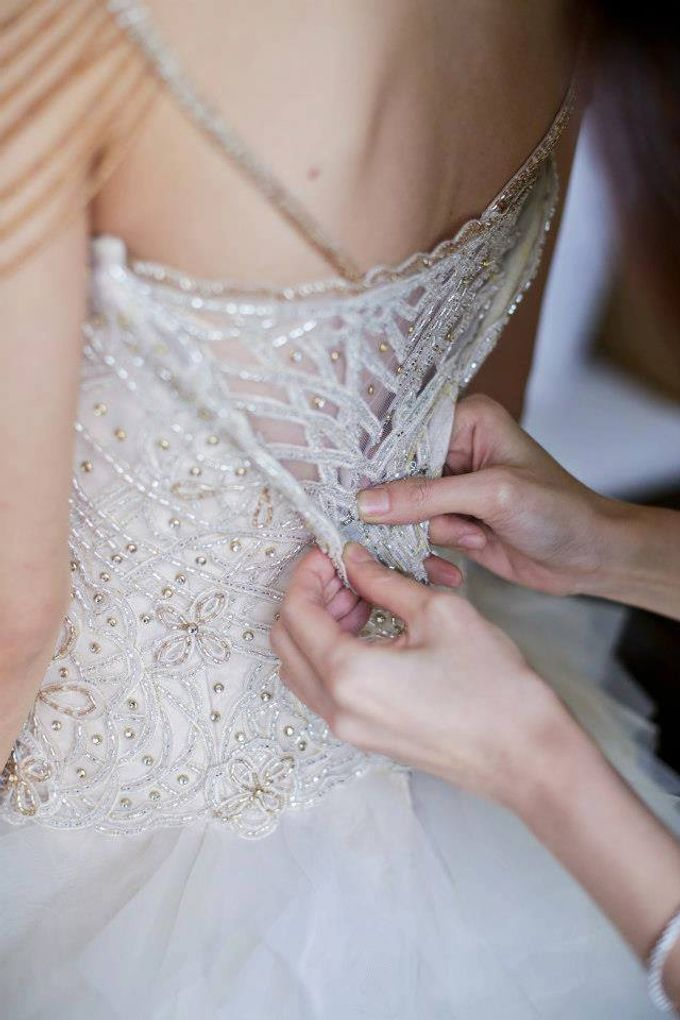 BRIDAL GOWN DETAIL by Steph Tan Couture - 015