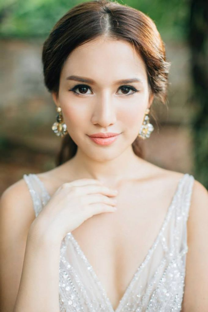 A Spring Wedding by Cleo Chang - Makeup . Hair - 008