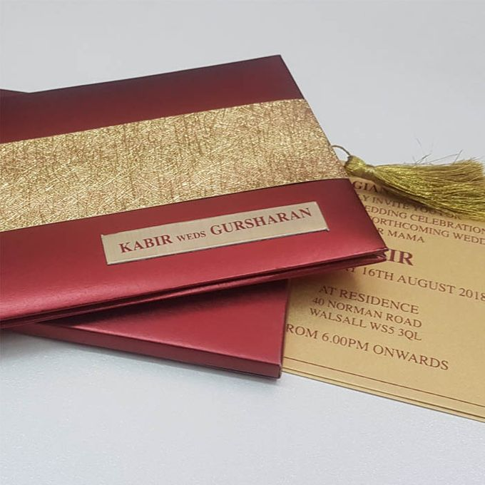 Finish Paper by The Wedding Cards Online - 005