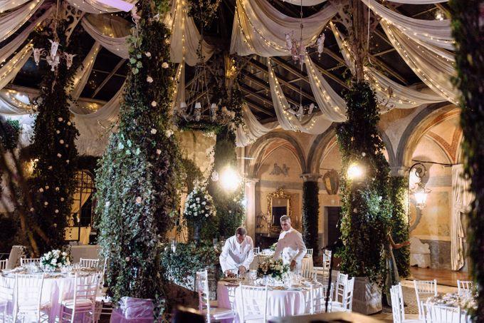 Wedding in Historical castel in Rome, Castello di Tor Crescenza by Vera Weddings - 036