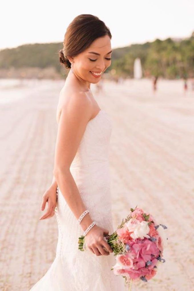 Rouella Real wedding  by Make Up by Ella - Boracay Based Make up Artist - 003