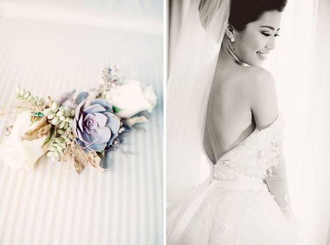 Indah & Robin Cultural Bali Wedding by Flying Bride - 001