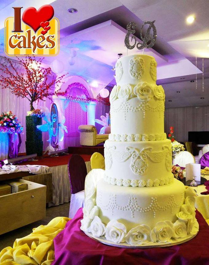 Wedding Cakes by I Love Cakes - 008