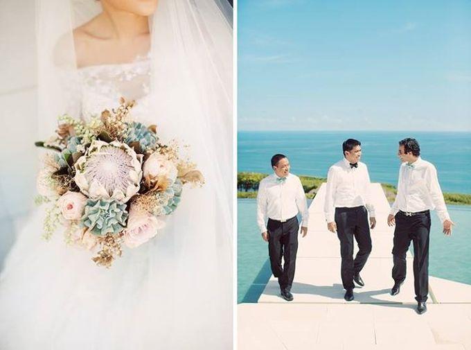 Indah & Robin Cultural Bali Wedding by Flying Bride - 011