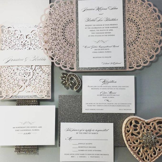 Danielle Behar Designs Invitationer by Danielle Behar Designs - 003