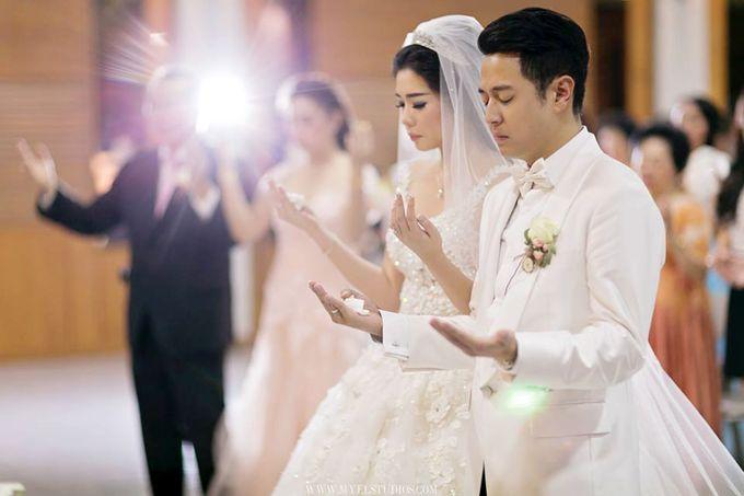 WEDDING DAY FOR RUSSEL & STELLA by Fedya Make Up Artist - 006