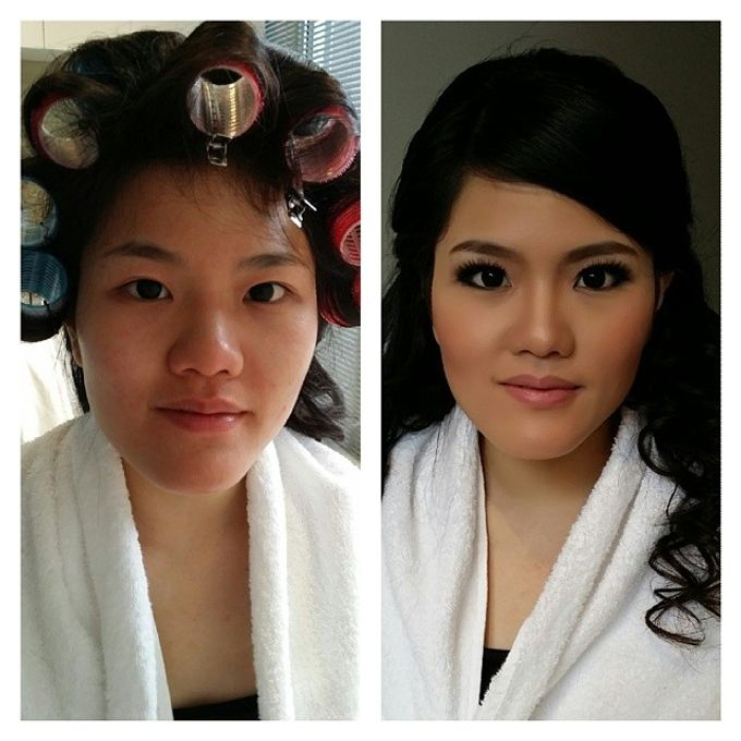 Before and After by Elly Liana Makeup Artist - 017