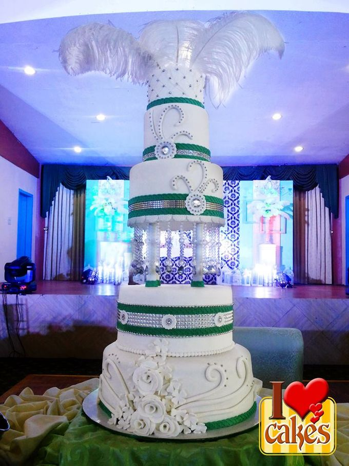 Wedding Cakes by I Love Cakes - 009