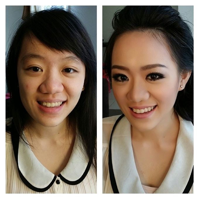 Before and After by Elly Liana Makeup Artist - 016