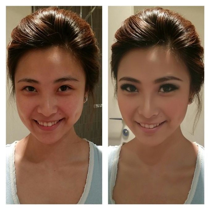 Before and After by Elly Liana Makeup Artist - 015
