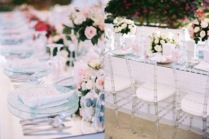 Adit & Celine Modern Ombre Wedding by Flying Bride - 013