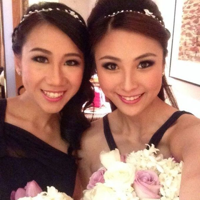Bridal party makeup by Elly Liana Makeup Artist - 006