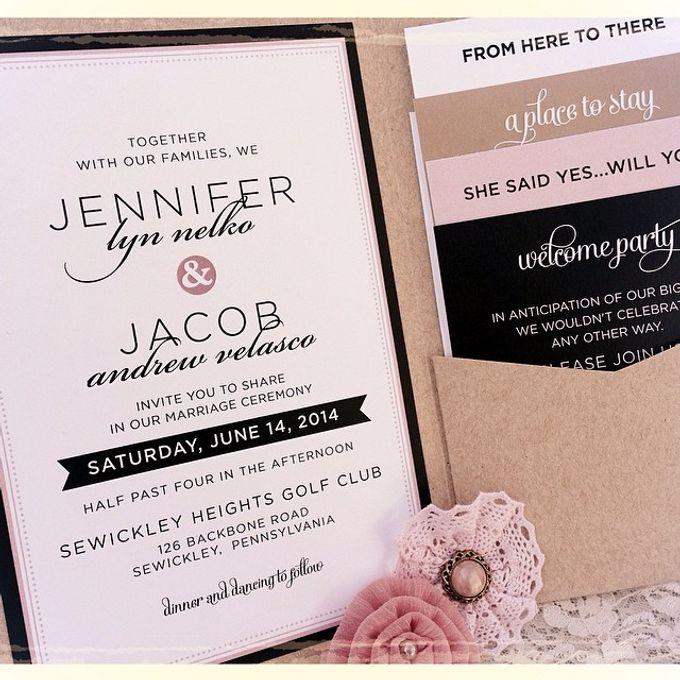 Wedding stationery portfolio  by Hello Beautiful Designs - 032