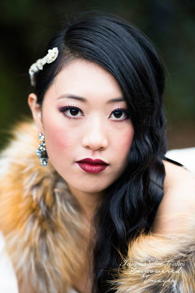 Bridal Photoshoot in the Dandenong Mountans by Innicka Dee Cakes - 002