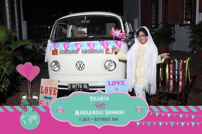 The Weddng of Yulianto & Amy by Twotone Photobooth - 095