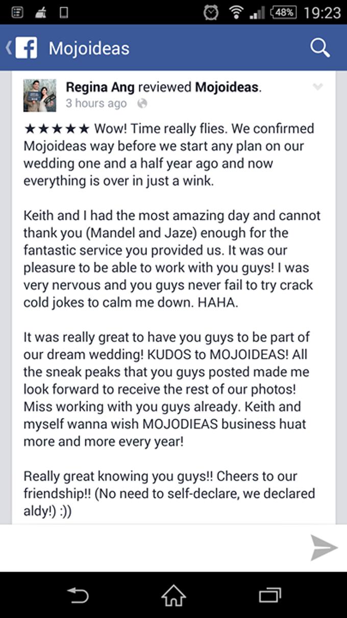 Real Wedding Testimonials by Mojoideas - 018