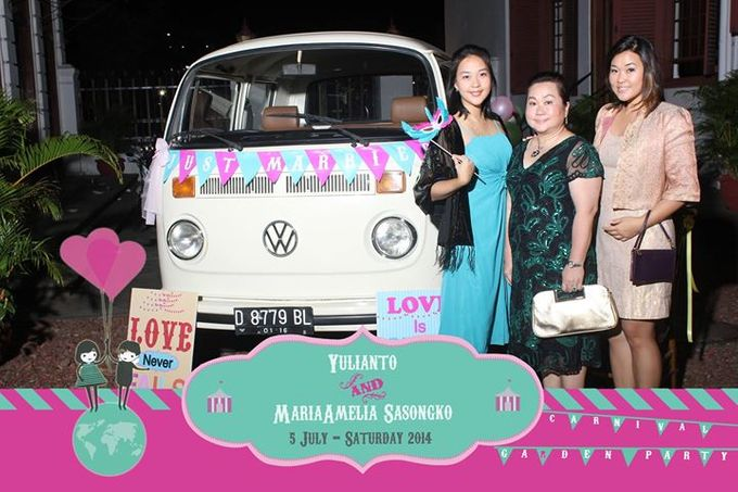 The Weddng of Yulianto & Amy by Twotone Photobooth - 001