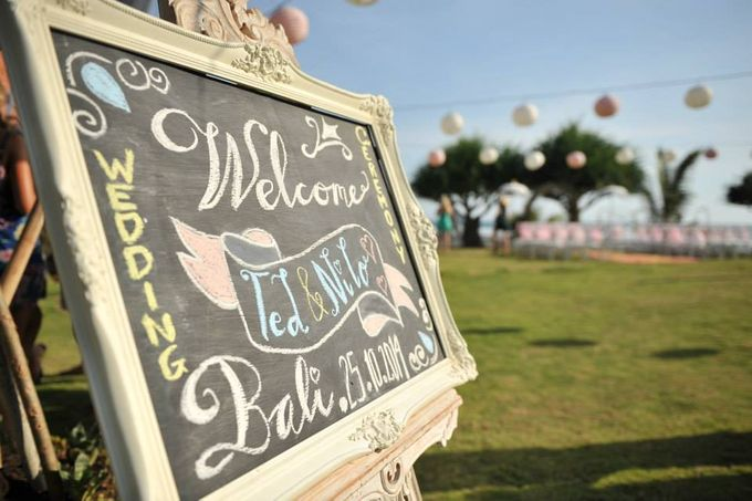 TED & NILO WEDDING by Pondok Pitaya: Hotel, Surfing and Yoga - 002