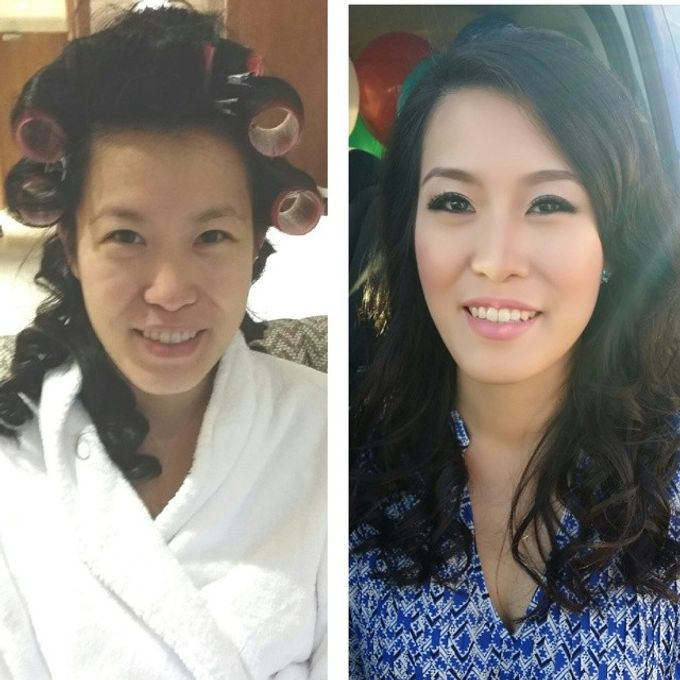 Before and After by Elly Liana Makeup Artist - 013