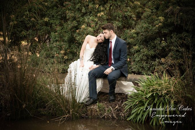 Bridal Photoshoot in the Dandenong Mountans by Innicka Dee Cakes - 006