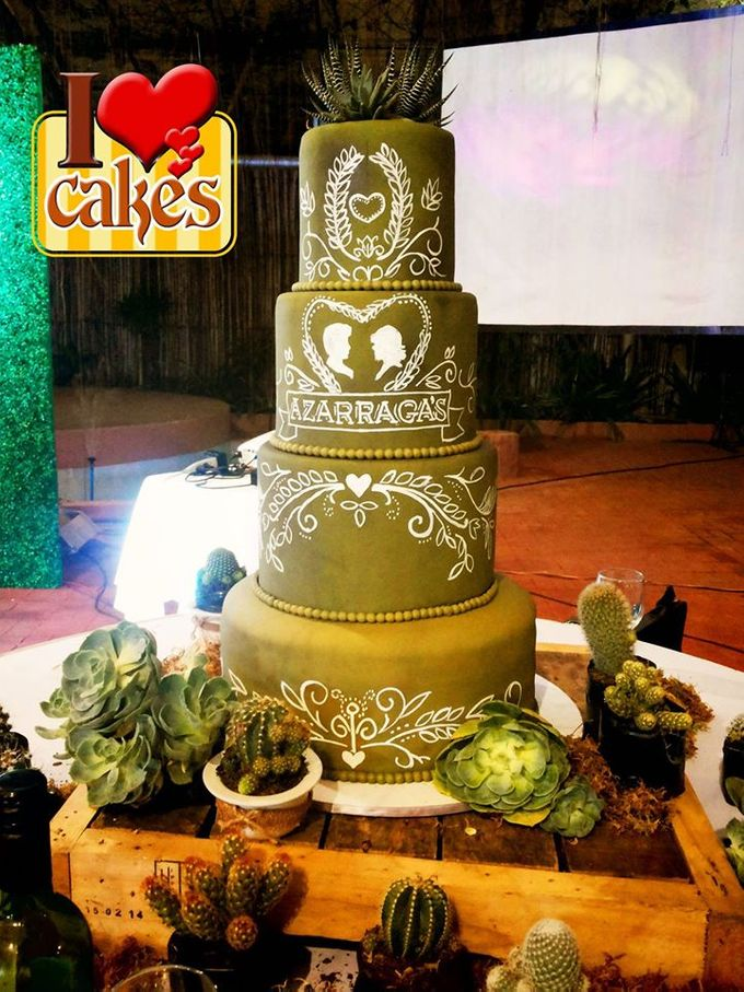 Wedding Cakes by I Love Cakes - 010