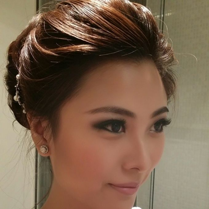 Bridal party makeup by Elly Liana Makeup Artist - 007
