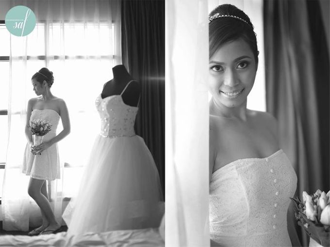 Allan & Jane ties the knot by Nadine Rayo Hair and Makeup Artistry - 007