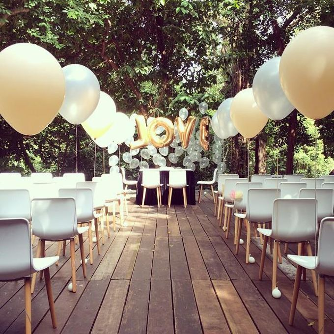 Solemnisation Table by Balloon Blasters - 003