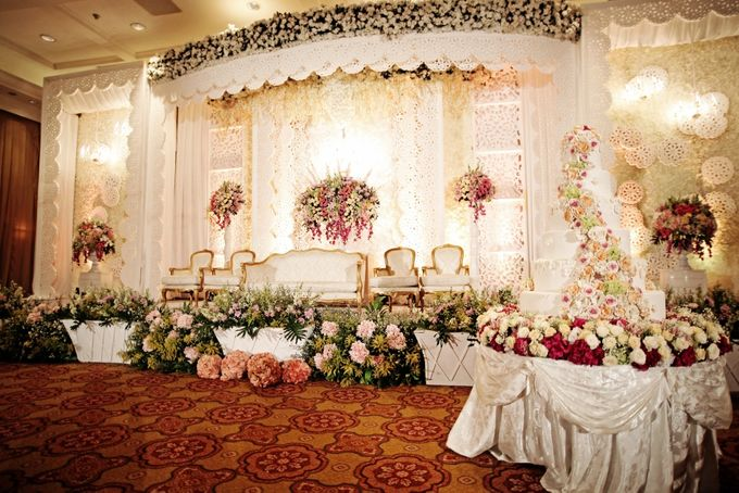 Wedding Decorations by JW Marriott Hotel Jakarta - 006