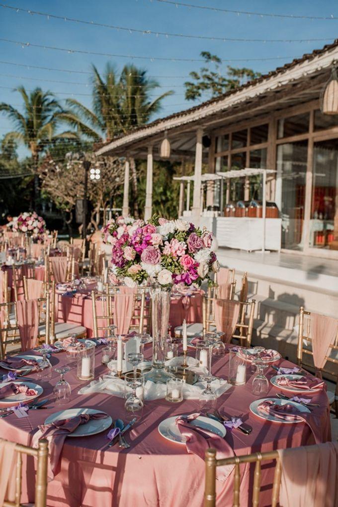 Soft Purple & Lavender Decoration Wedding by Bali Izatta Wedding Planner & Wedding Florist Decorator - 008