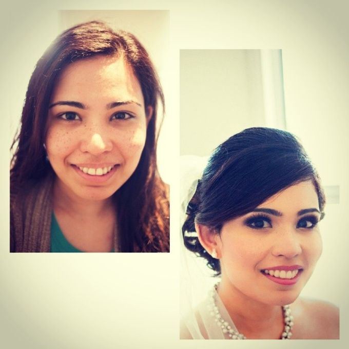 Before and After by Elly Liana Makeup Artist - 012