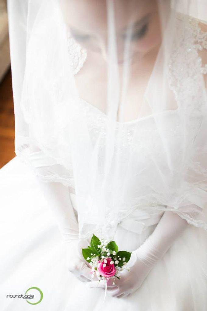 Hadi & Eveline Wedding by Adel's House of card - 014