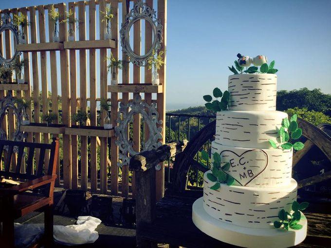 Wedding Cakes by Cupkeyk N Art - 005