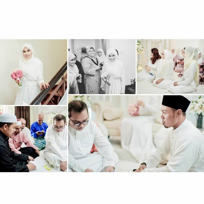 Solemnization of  Calissa & Nasoha by Amalina Tuna Photography - 006